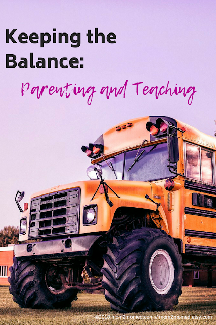Keeping the Balance: Parenting and Teaching
