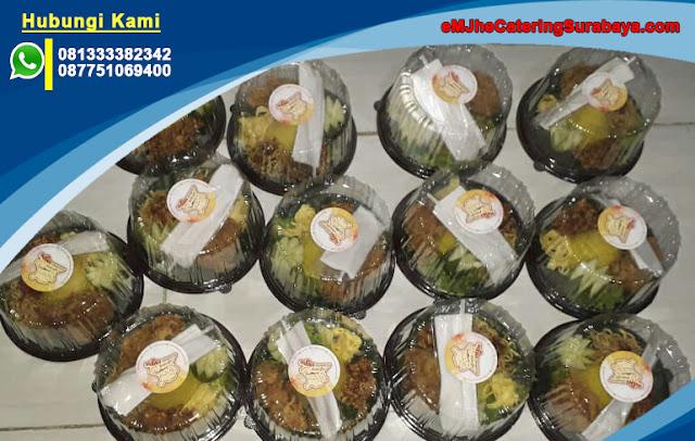 Catering Nasi Tumpeng Mini (TUMINI) Syukuran dan Ulang Tahun eMJhe Catering Surabaya