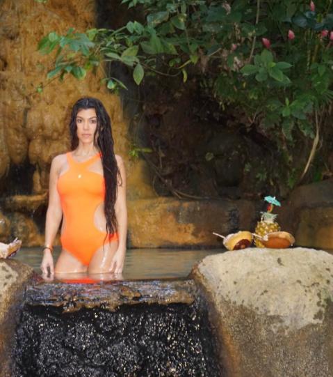 Kourtney Kardashian looks ethereal in new bikini photos