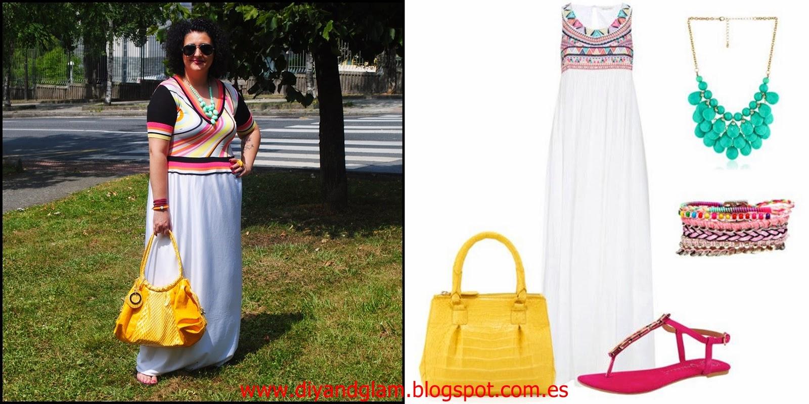 Look maxi dress etnic