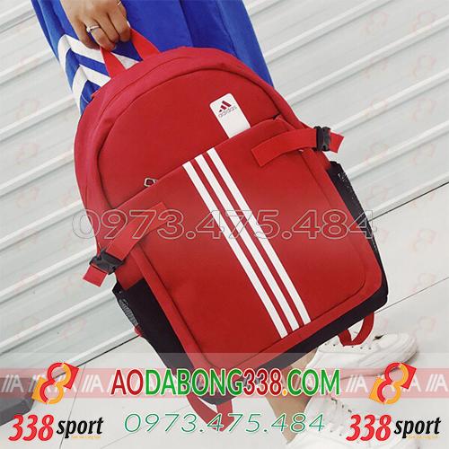 Balo Bóng Đá Giá Rẻ Adidas 3 Sọc Đỏ
