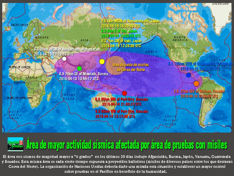 Seguridad ciudadana japn guatemala y ecuador en rea de japn guatemala y ecuador en rea de influencia de mayor actividad ssmica y afectada de pruebas con misiles gumiabroncs Gallery