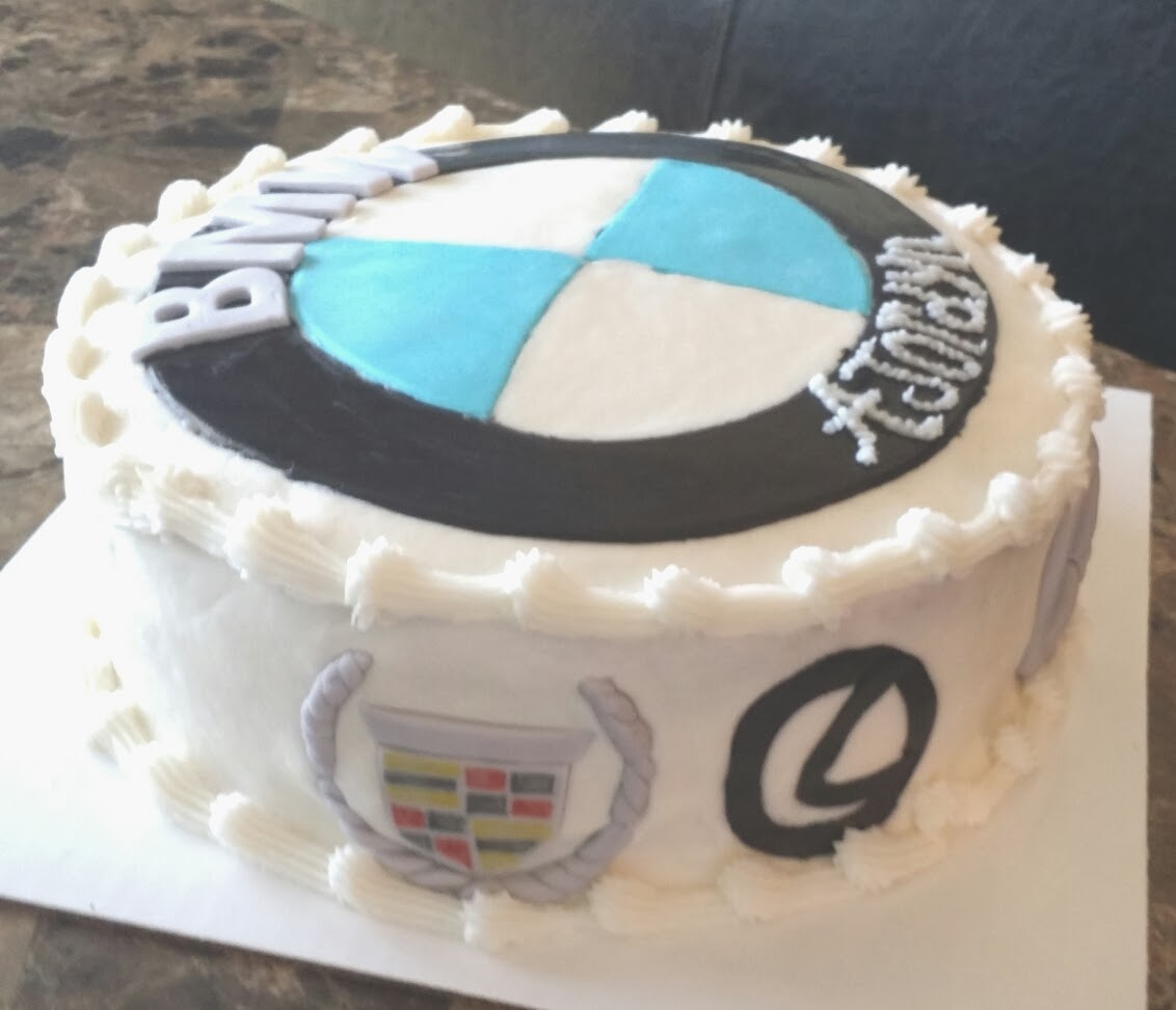 For Goodness Cake Bmw Cadillac Lexus Mercedes Cake For All You