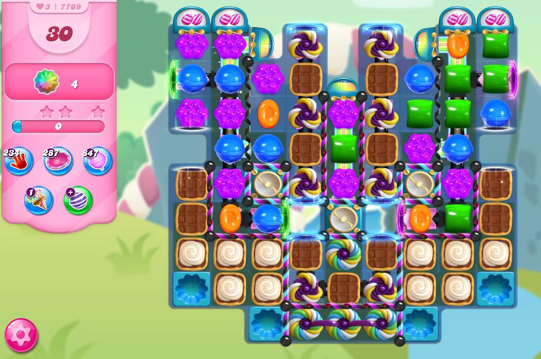 Candy Crush Saga level 7709