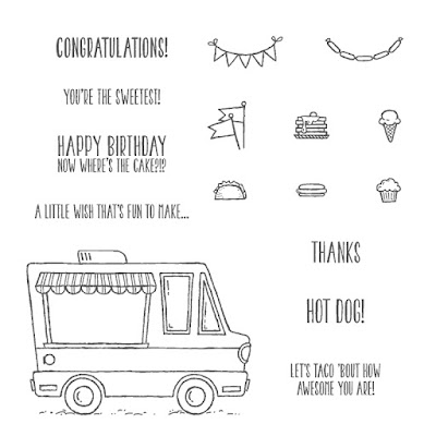 Tasty Trucks, Stampin' Up!