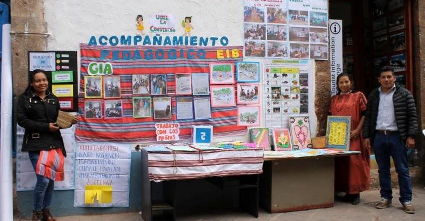 DÍA DEL LOGRO 2018: Cusco celebró Feria de los Aprendizajes Logrados en las diferentes intervenciones Pedagógicas [FOTOS]