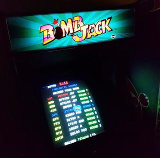 Bomb Jack at Arcade Club in Bury