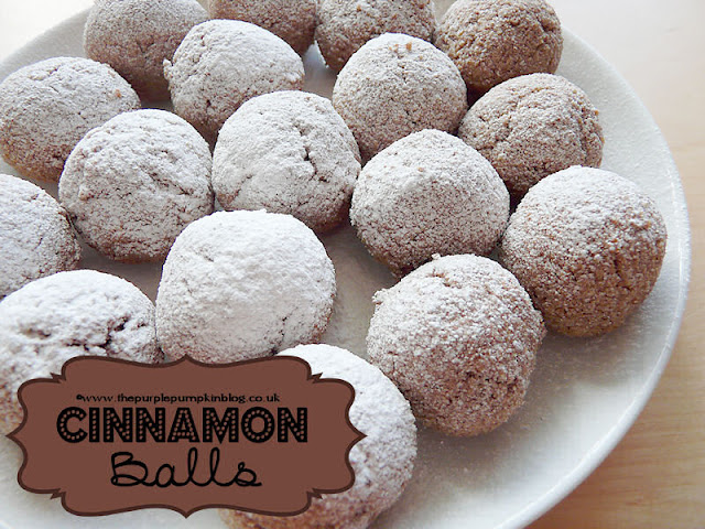 Cinnamon Balls for #Pesach / #Passover #Gluten Free and #Dairy Free