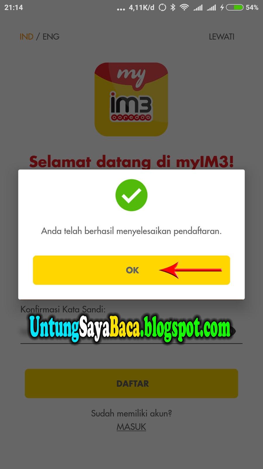 Cara Cek dan Mengganti Data Registrasi Kartu Indosat Mentari IM3  Untung Saya Baca USB