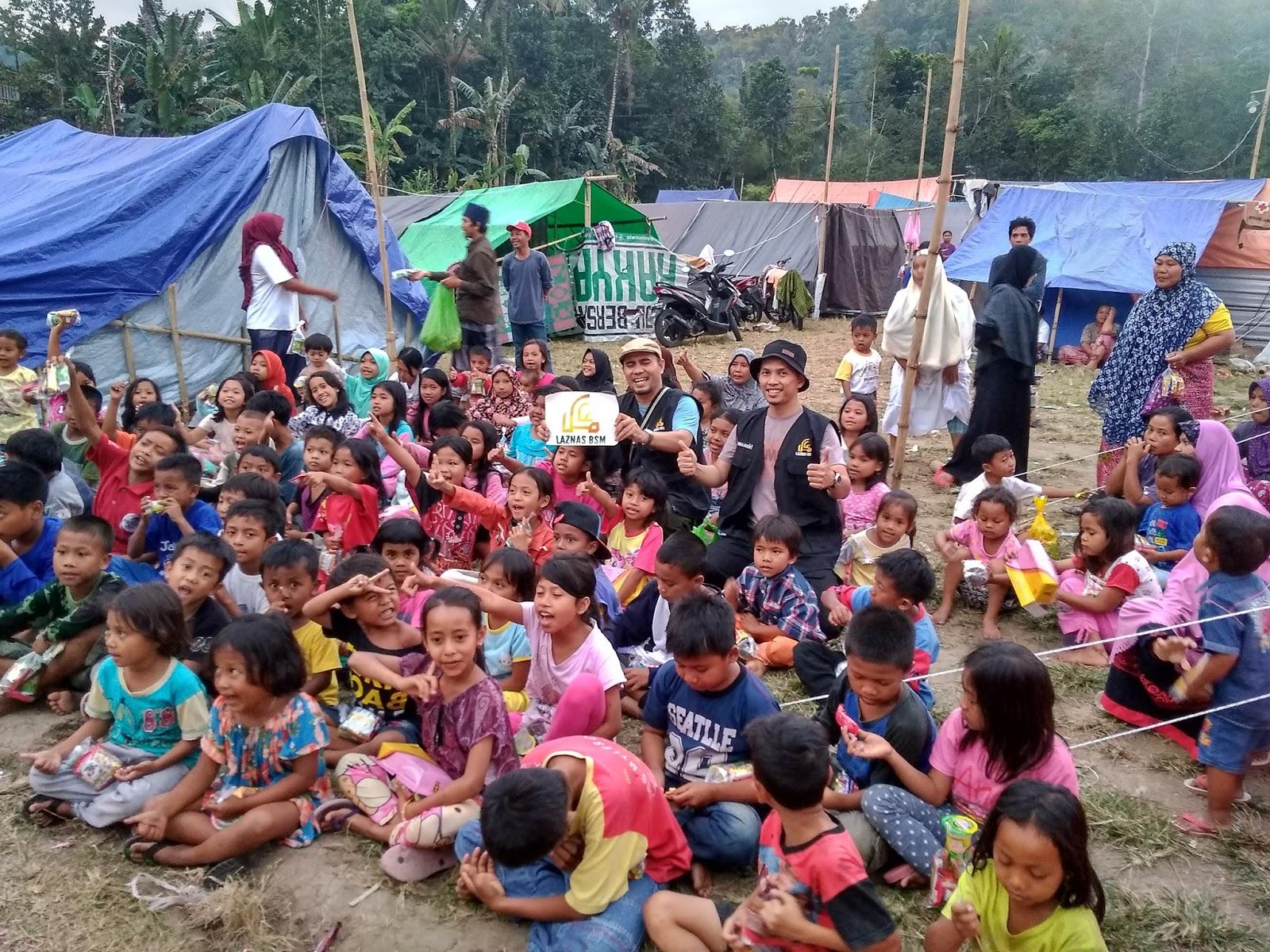 Cerita Sang Pendongeng di Lokasi Gempa: Ada yang Bergerak di Mulut