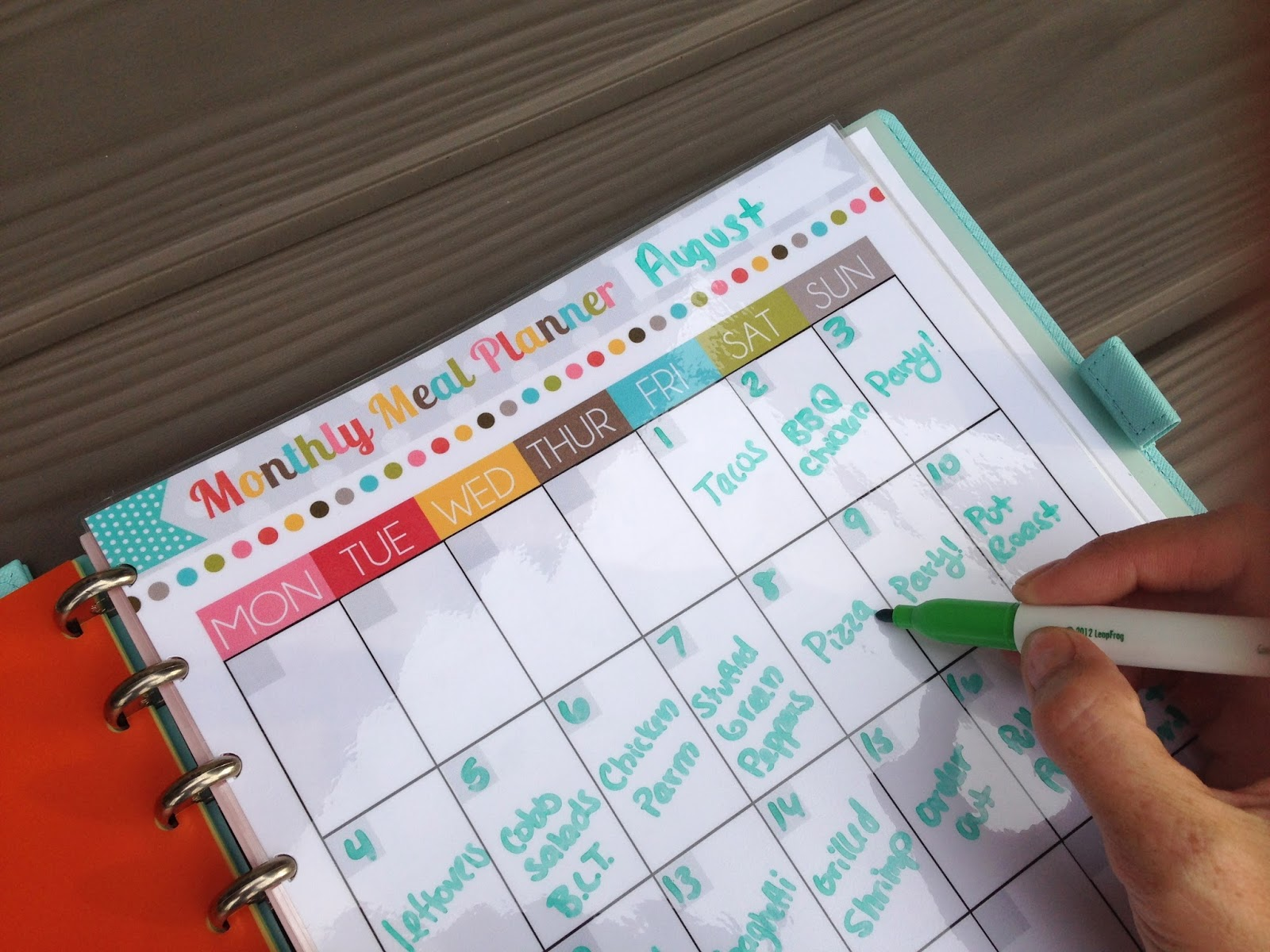 Planning Ideas Old Fashioned Way To Get The Best Pool: The Polka Dot Posie: How To Build YOUR Perfect Planner