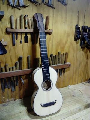 guitarra romantica - luthier claudio rojas - antilko