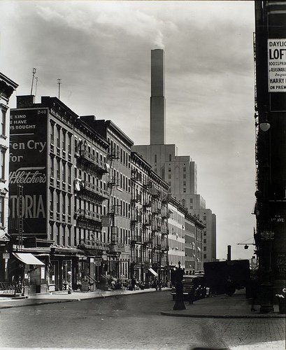 Manhattan Streets: Vintage Everyday: Changing New York, 1935-1938
