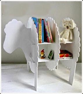Kartondan Kütüphane Modeli Yapımı, Resimli Açıklamalı