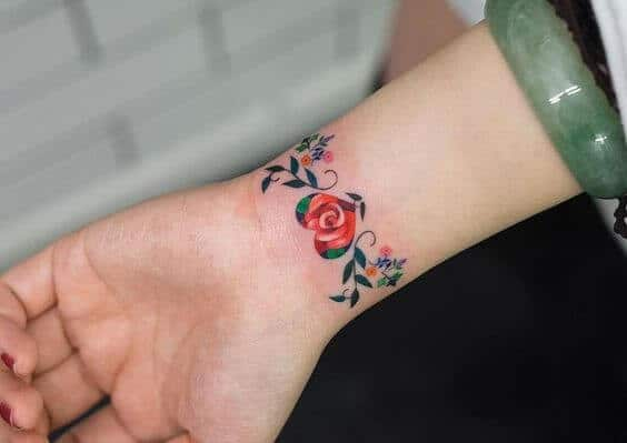 phoenix tattoo small