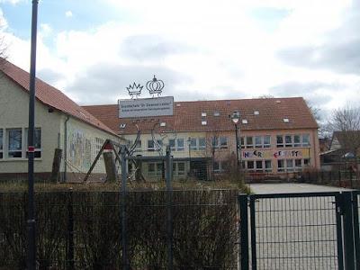 Escuela primaria Dr. Emanuel Lasker de Ströbeck en la actualidad