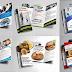 6 تصميمات بروشور متنوعة ومفتوحة المصدر بصيغة PSD قابلة للتعديل