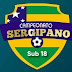 Definidos os classificados para as semifinais do Campeonato Sergipano SUB-18