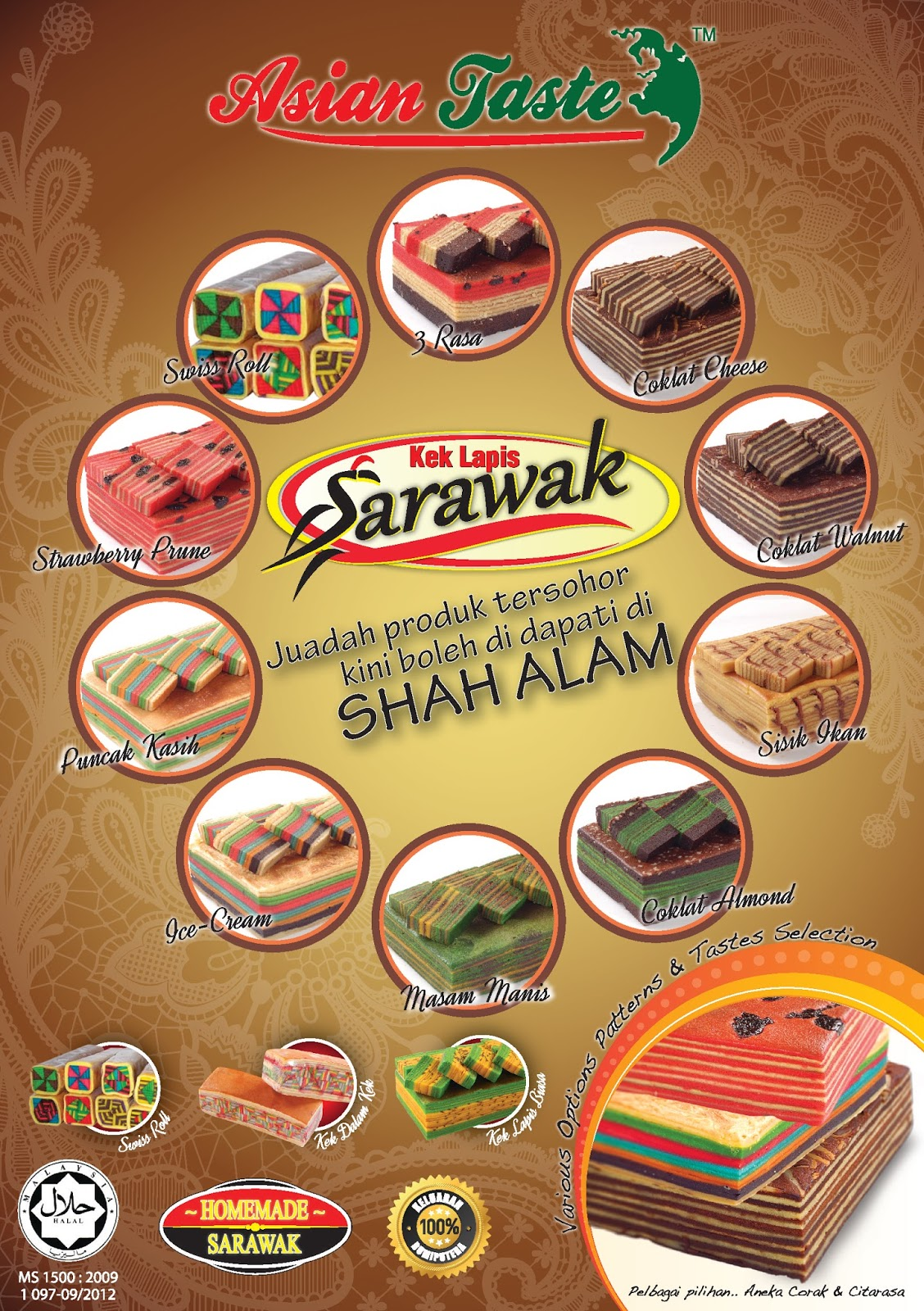 Bagi Yang Berminat Untuk Tambah Pendapatan Hubungi Kami Info Dan Cara Anda Boleh Menambah Income Dengan Kek Lapis Sarawak Asian Taste