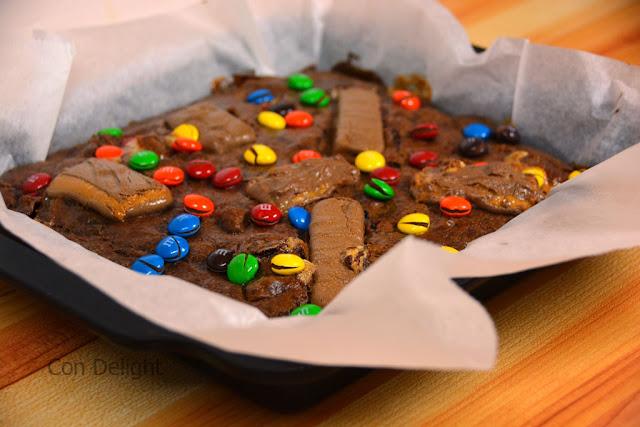 בראוניז ממתקים Candy brownies