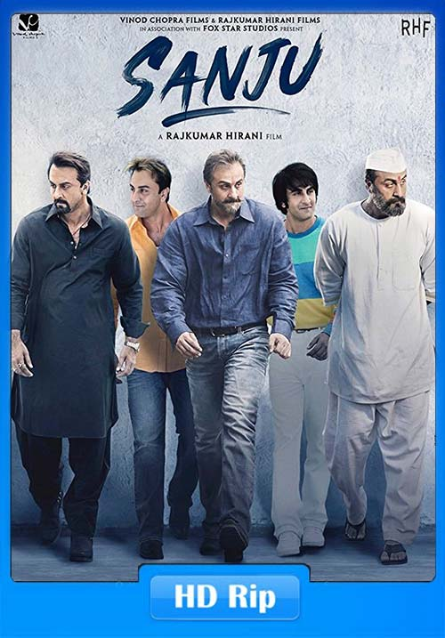 Sanju 2018 Hindi 720p Proper HDRip x264 | 480p 300MB | 100MB HEVC