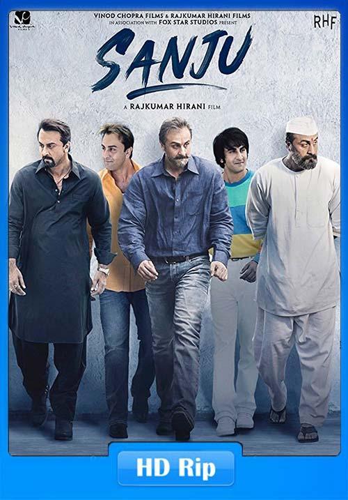 Sanju 2018 Hindi 720p Proper HDRip x264 | 480p 300MB | 100MB HEVC Poster