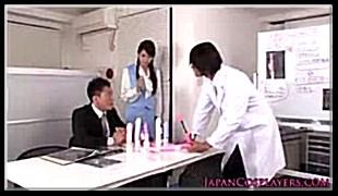 직장여성 야동-딜도회사의 신상 테스트 모델 여직원