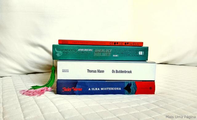 Quatro livros para ler em maio