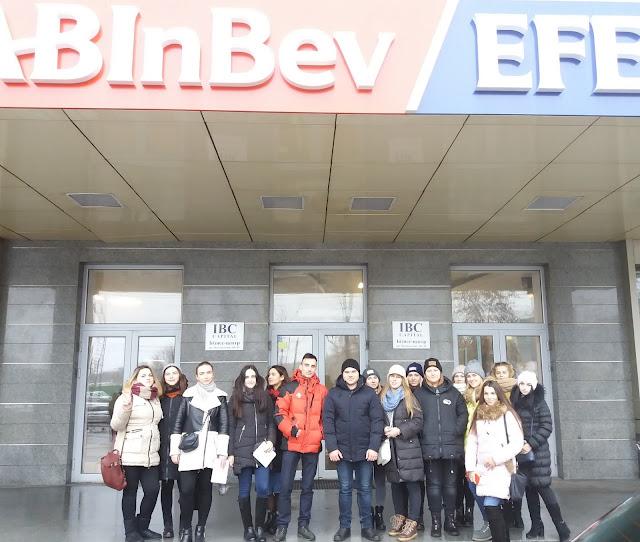 Екскурсія у найбільший європейський офіс компанії AB InBev Efes