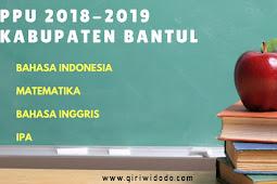 Peringkat PPU Bantul Tahap 1 TA 2018-2019 Bahasa Indonesia