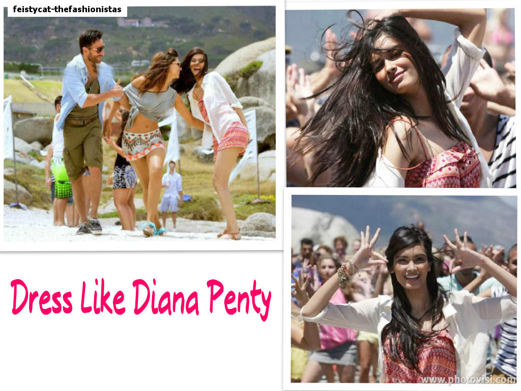 dc5e92b56727 Today I am doing a post on how to dress like Diana in the song 'Tumhi Ho  Bandhu'.