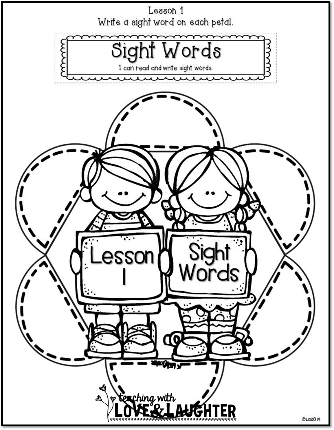 Teaching With Love and Laughter: First Grade Interactive