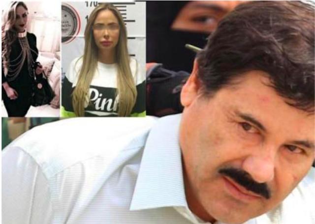 """""""La Muñeca"""" esposa del Inspector de Aduana y AMANTE de El Chapo"""