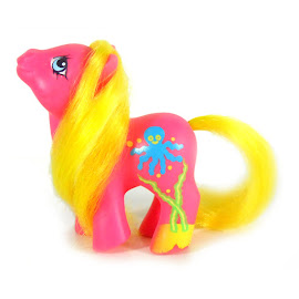 My Little Pony Baby Splosh UK & Europe  Seaside Babies G1 Pony