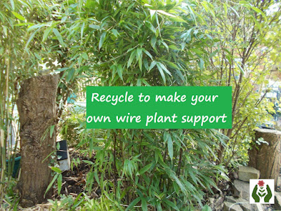 Recycle to make your own plant support Green Fingered Blog