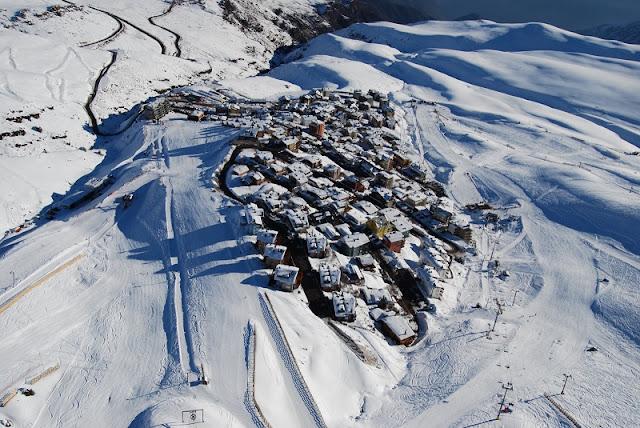 Como é a excursão para esquiar em Santiago