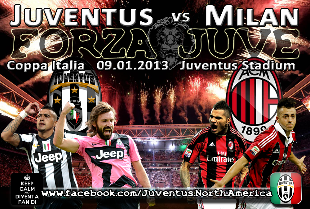 Sejarah Rivalitas AC Milan vs Juventus
