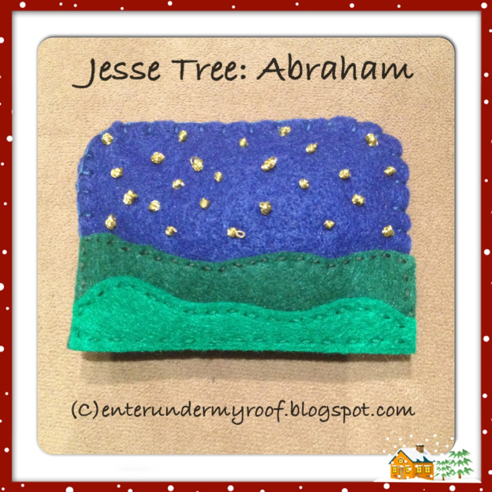 Jesse Tree Abraham Faith And Fabric
