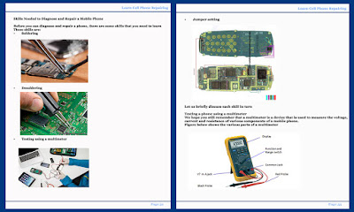this Learn Cell Phone Repair ebook is Using flowcharts, handy symptom tables, and clear stepbystep pictures