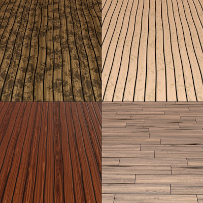 Iray Wood Floor and Wall Tile Shaders and Merchant Resource