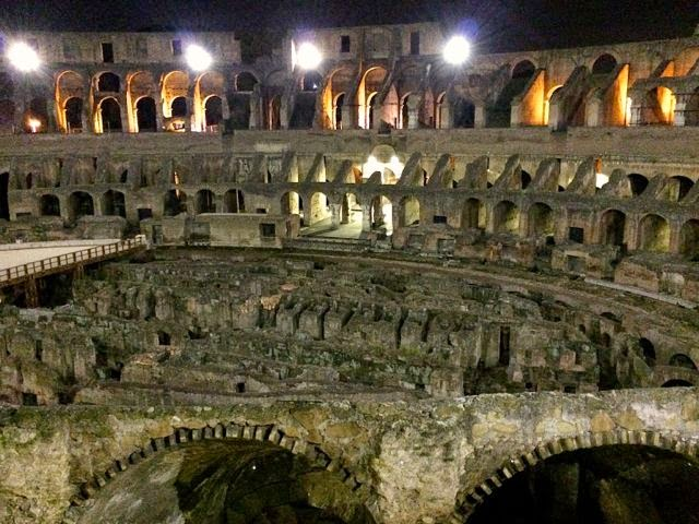 Tour the Colosseum at night // Walks of Italy