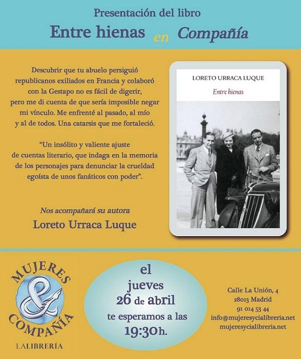 http://mujeresycialibreria.net/titulo/entre-hienas/9788494810442/