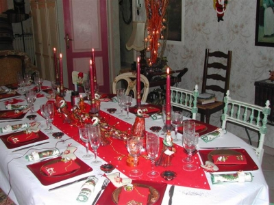 Decoration Table Noel Trendy With Decoration Table Noel Finest