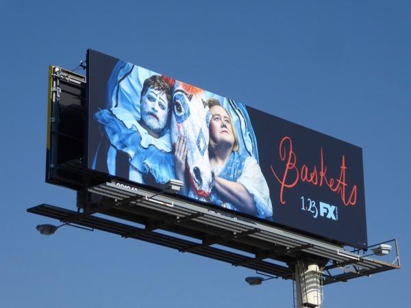 Baskets season 3 FX billboard
