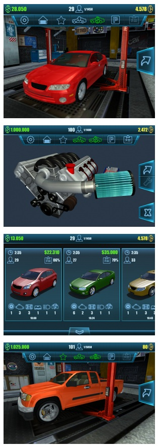 Car Mechanic Simulator 2016 MOD Unlimited Money For Android