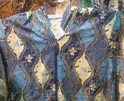 model kain baju batik tradisional