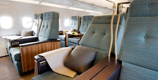 Gambar Ruang Dalaman Pesawat ACJ 320