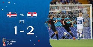 Islandia vs Kroasia 1-2 Video Gol Highlights