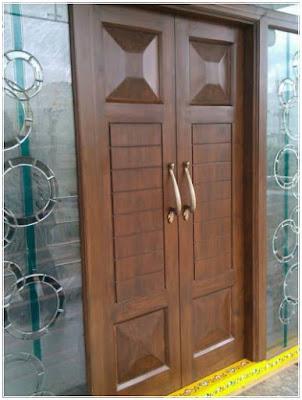 model daun pintu utama dari kayu