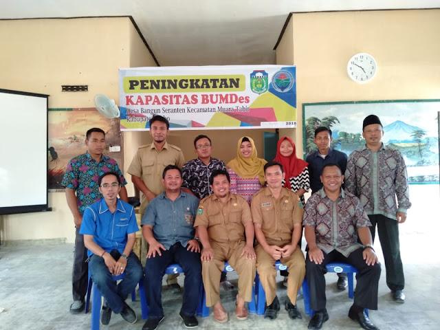 Desa Bangun Seranten Gelar Pelatihan Peningkatan Kapasitas Pengurus BUMDes